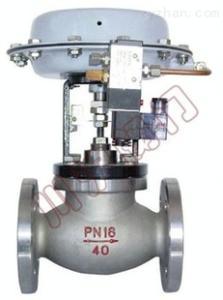 气动薄膜单座切断阀,气动单座切断阀,气动切断阀