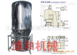供应GFG 系列高效沸腾干燥机器 沸腾干燥机