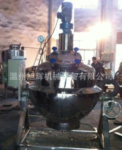 電加熱真空攪拌鍋,高粘度攪拌夾層鍋,餡料鍋,蒸汽攪拌鍋