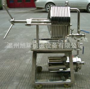 板框式过滤器 板框过滤机 不锈钢过滤器 食用油过滤器 厂家直销