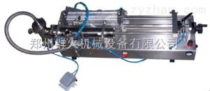 膏液灌裝機-半自動臥式膏液灌裝機-膏液定量灌裝機