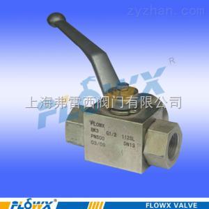 FP20系列手動碳鋼三通球閥  進口  生產廠家