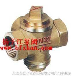 旋塞閥:TX16W-1.0T三通內螺全銅旋塞閥