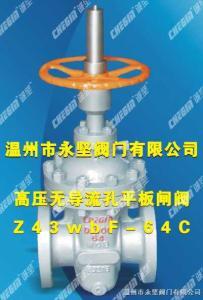 Z43X高压无导流孔平板闸阀