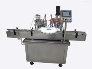 HCDGK-I/II分盘定位上塞上盖眼药水灌装旋盖机