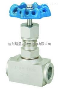 J13W/H 內螺紋針形閥