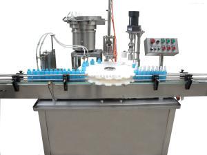 HCPGX-60型滿足多種生產瓶子規格噴霧劑灌裝旋蓋機