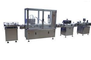 HCGX-100/1000HCGX-100/1000 自動液體灌裝生產線液體塑料