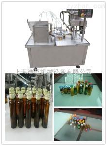 HCDGK-10/20口服液灌裝軋蓋機