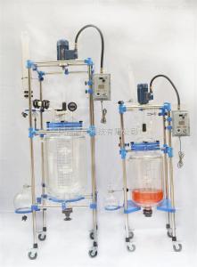 SF-50D50L双层玻璃反应釜,特价销售!
