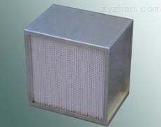 HS有隔板高效过滤器木框铝框镀锌框东莞高效过滤器