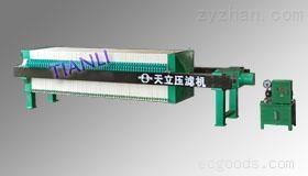 1000液壓自動保壓廂式壓濾機(XAY100/1000-UB)