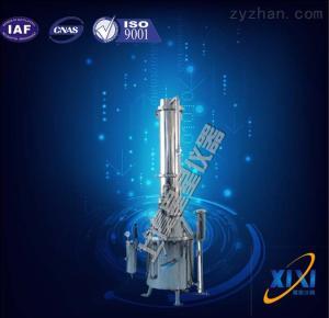 TZ100出水量大于等于100升每小時不銹鋼塔式蒸汽重蒸餾水器 生產廠家 使用 批發價