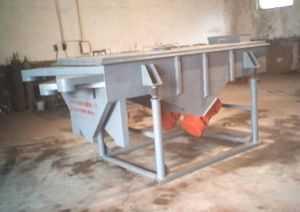 DZSF型陶瓷振動篩、涂料振動篩、礦結構直線篩、加漏斗礦篩