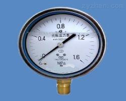 充油耐震压力表