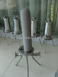 钛棒过滤器符合GMP标准 钛棒过滤器 不锈钢过滤器