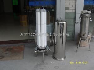 濾芯過濾器不銹鋼精密濾芯過濾器
