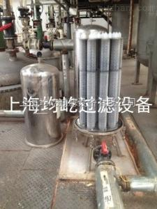 JYXL-12-30上海均屹PP折叠滤芯过滤器医药中间体过滤使用现场