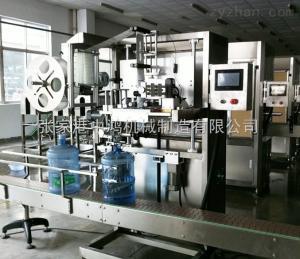 DH-100大桶水全自动套标机