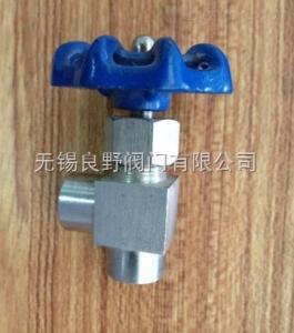 J14H不銹鋼角式絲扣針形閥