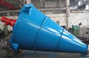 方圓機械供應化工SHJ雙螺桿錐形混合機
