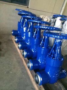 Z61Y手动-焊接闸阀-手动铸钢型高压闸阀Z61Y良工阀门