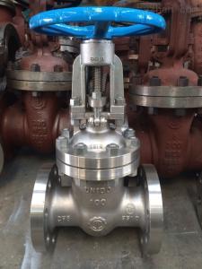 158不銹鋼手動法蘭閘閥-Z41H高壓不銹鋼閘閥-良工閥門廠家
