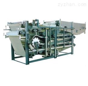 带式压滤机污水处理设备水平压滤机污泥脱水机