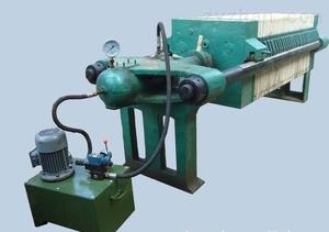 800型電動液壓廂式壓濾機