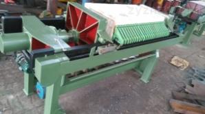 供應電動液壓自動拉板廂式壓濾機