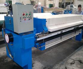 板框式壓濾機設備(PAHL-80型)