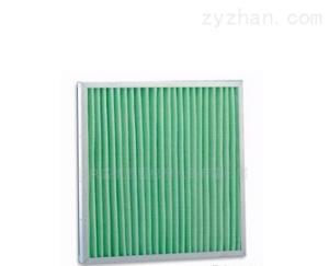 河北省張家口市鋁框合成纖維板式過濾器(全國熱銷產品)