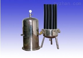 法蘭連接直通管式過濾器(法蘭連接管道過濾器)
