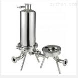 溫州佳一定做非標不銹鋼快裝管道過濾器(快接管式過濾器)