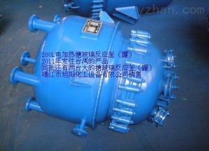 K型,F型搪玻璃电加热反应釜