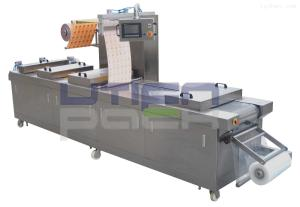1000全自动连续滚动式真空包装机, 肉制品真空包装