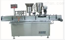 廠家直銷,單頭全氣動膏液灌裝機 臥式全氣動膏體灌裝機械