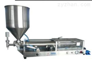 贴标灌装XT—F卧式半自动膏体灌装机 半自动液体灌装机