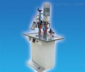 [合作] 微型罐體氣霧劑灌裝機械(cjxh-R微型罐體氣霧劑灌裝機械)