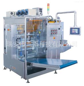 DXDO-Y900EU全自動四邊封蠕動泵液體包裝機