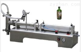 半自动台式液体灌装机