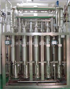 5m3/h列管式多效蒸馏机