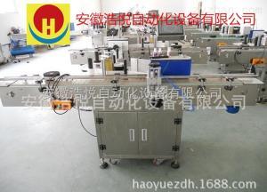TM-210客戶定制全自動定位式圓瓶貼標機