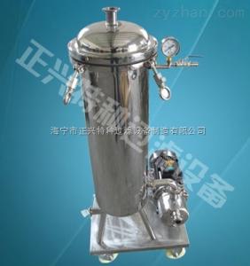 1P2S供应保温袋式过滤器