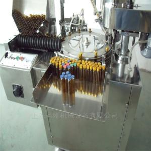 SGSDGK-10/20全自動口服液灌裝軋蓋機螺桿進瓶,破瓶率低