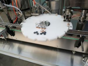 SGSXGX-50西林瓶灌裝壓塞軋蓋機 自動灌裝機械