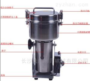 wk-500厂家专业生产摇摆式中药粉碎机