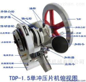 TDP-1.5粉末單沖壓片機