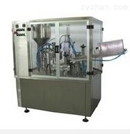 廣州廠家全自動牙膏灌裝封尾機 復合軟管灌裝/鋁管灌裝折尾機械