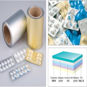 PA/AL/PVC 冷铝包装材料